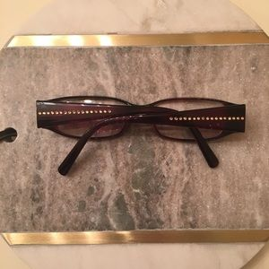 Fendi F625R Cold Insert Italy Brown Eyeglasses